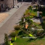 Il multirotore di Immaginaria si alza da Piazza del Duomo a Brescia
