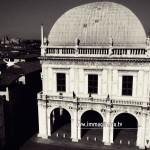 La Loggia di Brescia vista dal multirotore di Immaginaria