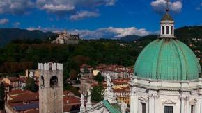 La cupola del Duomo Nuovo di Brescia