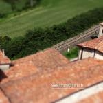 Il drone sorvola il Monastero di San Pietro a Provaglio di Iseo
