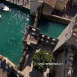 Torri e fossato del Castello Scaligero
