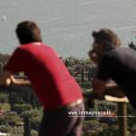 Riprese aeree sul lago di Garda