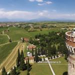 La Torre di San Martino della Battaglia ripresa in volo dal drone di Immaginaria